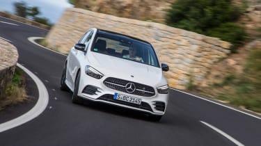 Mercedes B-Class - front cornering
