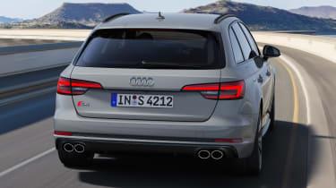 Audi S4 Avant - rear action