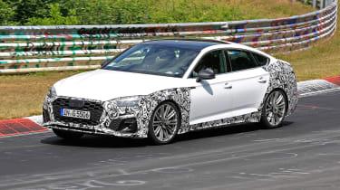Audi S5 Sportback - spyshot 2