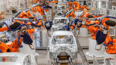 BMW SUVs feature - BMW SUV production line