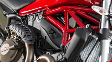 Ducati Monster 821 review - frame