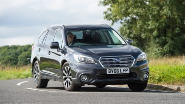 Subaru Outback - long term test final report front