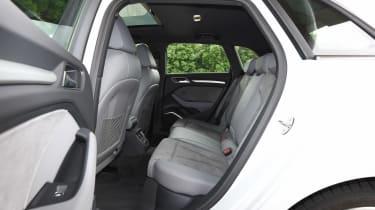 Audi A3 vs Volvo V40 vs Volkswagen Golf - A3 rear seats