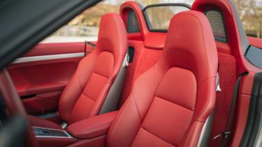 Porsche Boxster 25 Years - seats