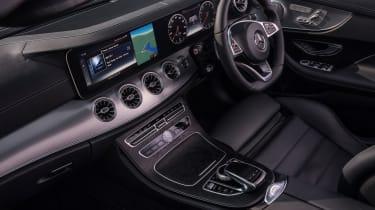 Mercedes E-Class Cabriolet - front seats