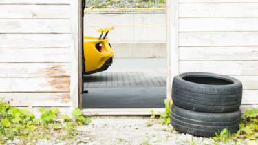 Ford GT Norway road trip - rear bumper