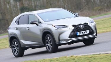"""""""The NX 200t is designed to bring performance edge to Lexus' crossover, but it's not that fun to drive. The six-speed auto box is better to use than the hybrid's eCVT transmission, yet the soggy chassis lets the car down."""" - James Disd"""