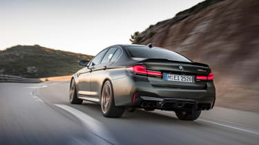BMW M5 CS - rear 2