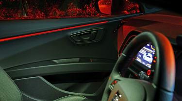 SEAT Leon Cupra - interior detail