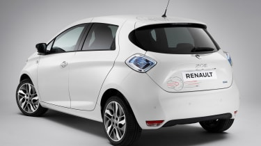 Renault Zoe Star Wars special edition - rear