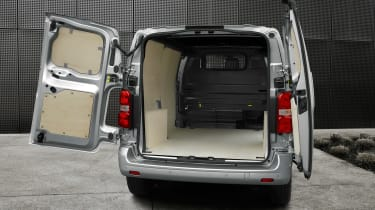 Peugeot Expert - rear open