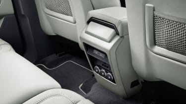 Land Rover Discovery Sport rear legroom