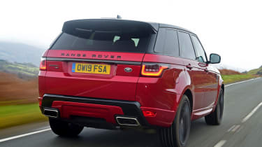 Range Rover HST - rear tracking