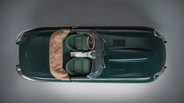 Jaguar E-Type 60 Collection - roadster above