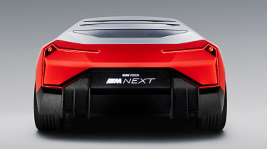BMW Vision M NEXT concept - studio full rear