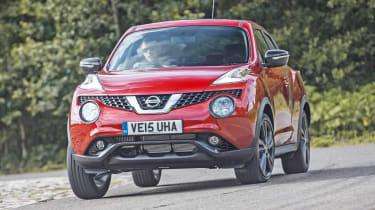 Nissan Juke - front cornering