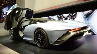 McLaren Speedtail - Geneva rear