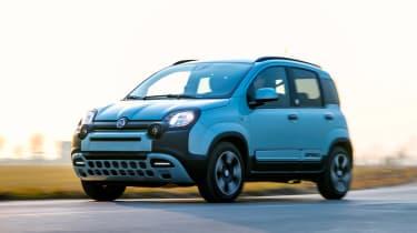 Fiat Panda Mild Hybrid - front tracking