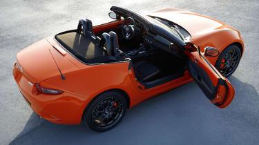 Mazda MX-5 30th Anniversary Edition - door open