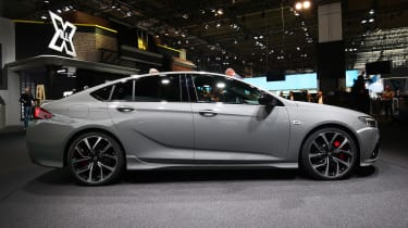 Frankfurt - Vauxhall Insignia GSi - side