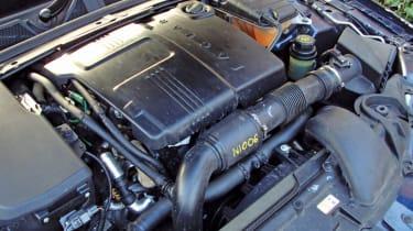 Jaguar XF 2.2D engine