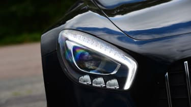 Mercedes-AMG GT C - front light