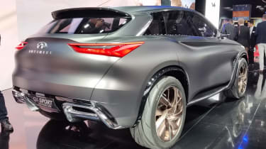 Infiniti QX Sport Inspiration - Paris rear three quarter