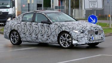 New Mercedes C-Class - spy shot 9