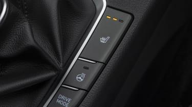 New Hyundai i30 heated seat button