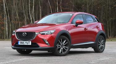 Mazda CX-3 - front quarter