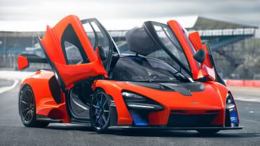 McLaren Senna prototype - door open