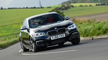 BMW M140i - front action