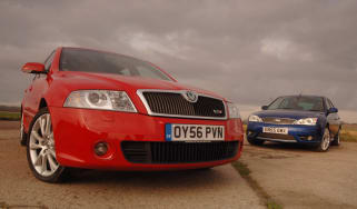Skoda Octavia vRS vs Ford Mondeo ST TDCi