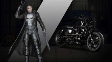Harley Davidson Marvel Super Hero Customs - The Punisher Up Front