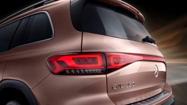 Mercedes EQB - rear detail