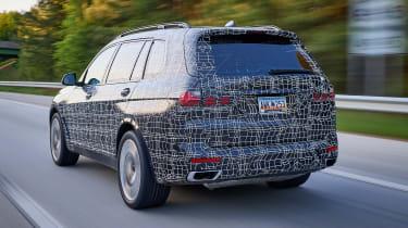 BMW X7 prototype - rear