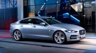 Jaguar XE - front grey