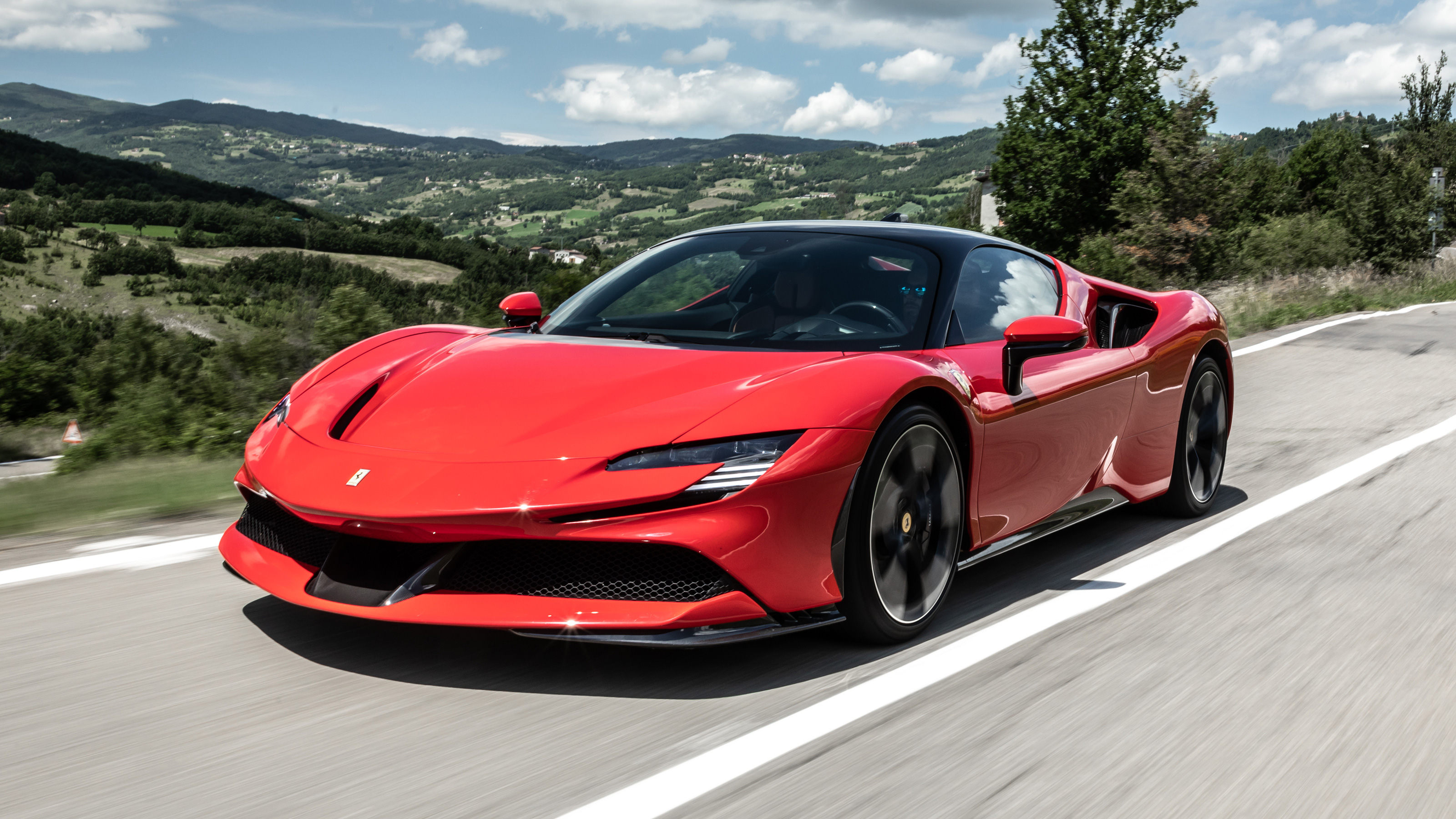 New Ferrari Sf90 Stradale 2020 Review Auto Express
