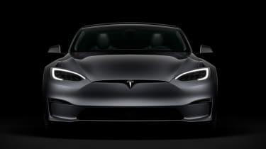 Tesla Model S facelift - full front
