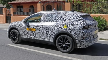 Volkswagen ID.4 SUV - spied - rear 3/4 tracking