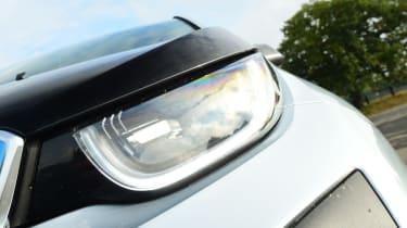 Long-term test review: BMW i3 REx headlight