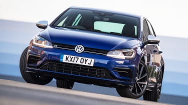Used Volkswagen Golf R - front static