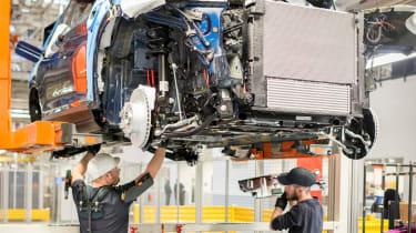 BMW SUVs feature - BMW SUV undercarriage checks