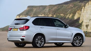Used BMW X5 - rear