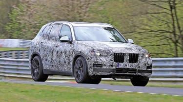 2018 BMW X5 - front spy shot