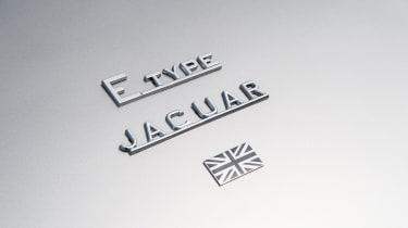 Jaguar E-Type Zero prototype - badge