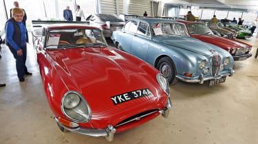 British Motor Museum - Jaguar line-up