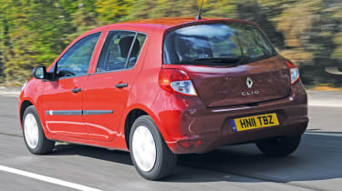 Renault Clio Pzaz rear tracking
