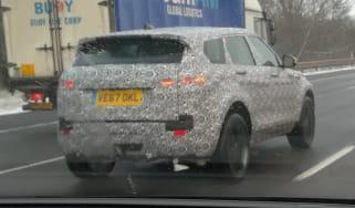 Range Rover Evoque hybrid - spyshot