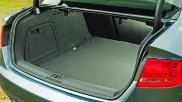Audi A4 boot.
